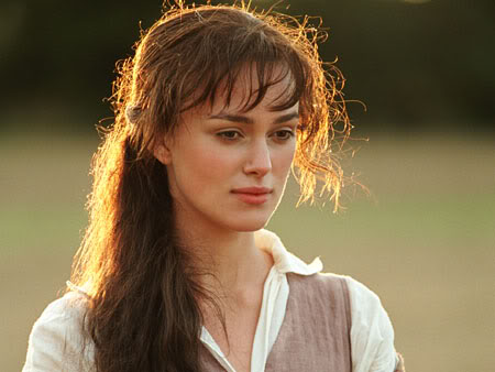 The Faces Of Elizabeth Bennet In Love With England