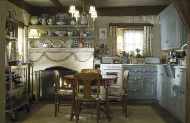 Rosehill cottage from the holiday in love with england - English cottage kitchen designs ...