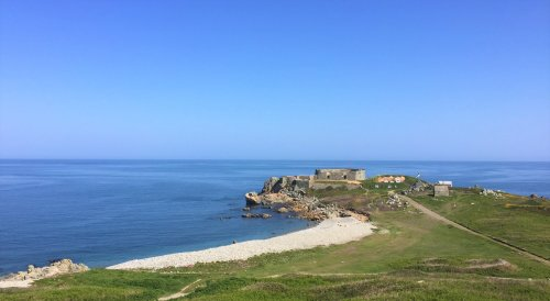 Fort Le Marchant in Guernsey